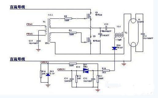 图5 按键电路   手持RF遥控部分硬件组成框架如图5所示,具体电路接口如下:   按键电路如图6所示,4*4轻触按键作为用户的输入,用户按键的输入判断是采用普通的I/O方式。具体每个按键定义为,可以根据开发着设计需要而定。   无线模块连接电路与手持RF无线模块的电路与灯光控制部分基本一样,电路如图3所示,都是使用SPI方式与无线模块通信。   电源电路如图7所示,手持遥控使用5V~9V干电池为系统供电。