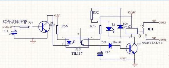 继电器保护电路设计