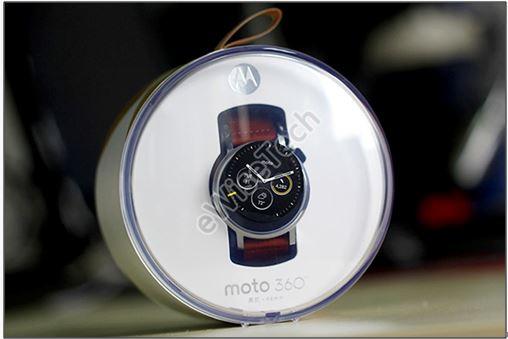拆解二代Moto 360智能手表:细节上有改进