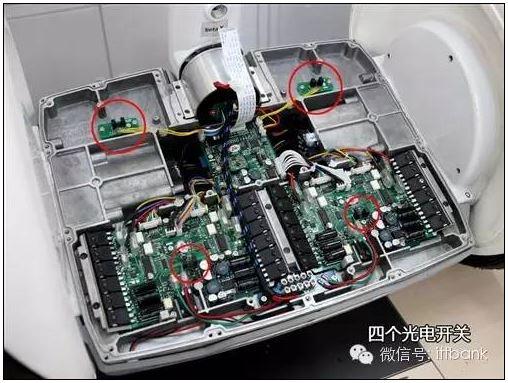 拆解Ninebot 九号电动平衡车 结构复杂,原理简单高清图片