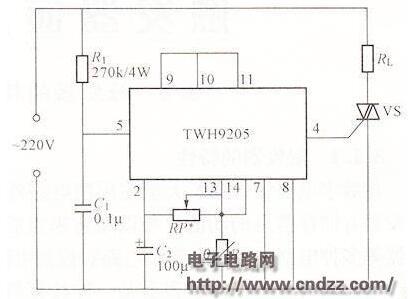 温度控制器电路