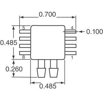 MPXV7007DP外观图