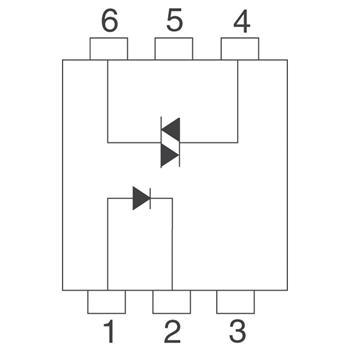MOC3021外观图