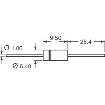 1.5KE6.8A-TP外观图