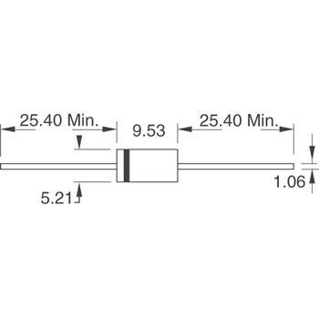 1.5KE68CA-T外观图