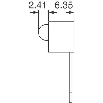 HLMP-1301-E00A2外观图