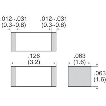 GRM31CR71A226KE15L外观图