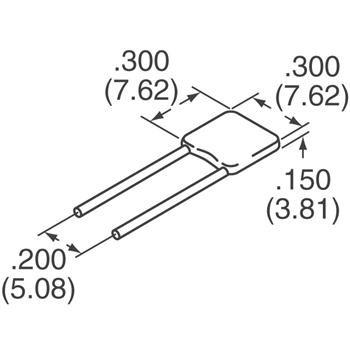 SR305C474KAR外观图