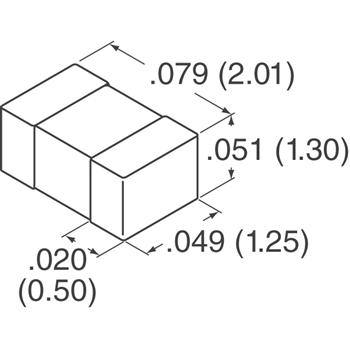 0805PC152KAT1A外观图