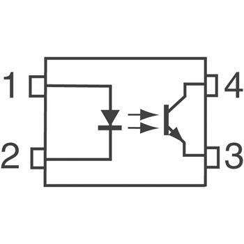 TLP281(GB-TP,F)外观图