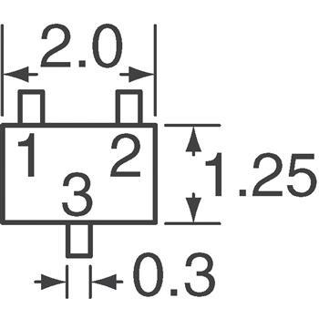 2SC4774T106S外观图