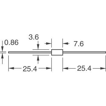 P6KE6.8CA外观图