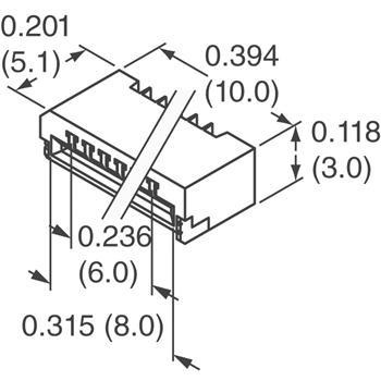 07FMN-SMT-A-TF(LF)(SN)外观图
