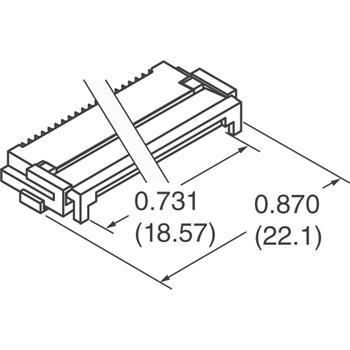 FH12F-36S-0.5SH外观图
