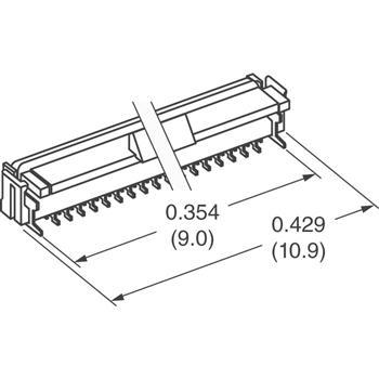 FH12-15S-0.5SV(55)外观图