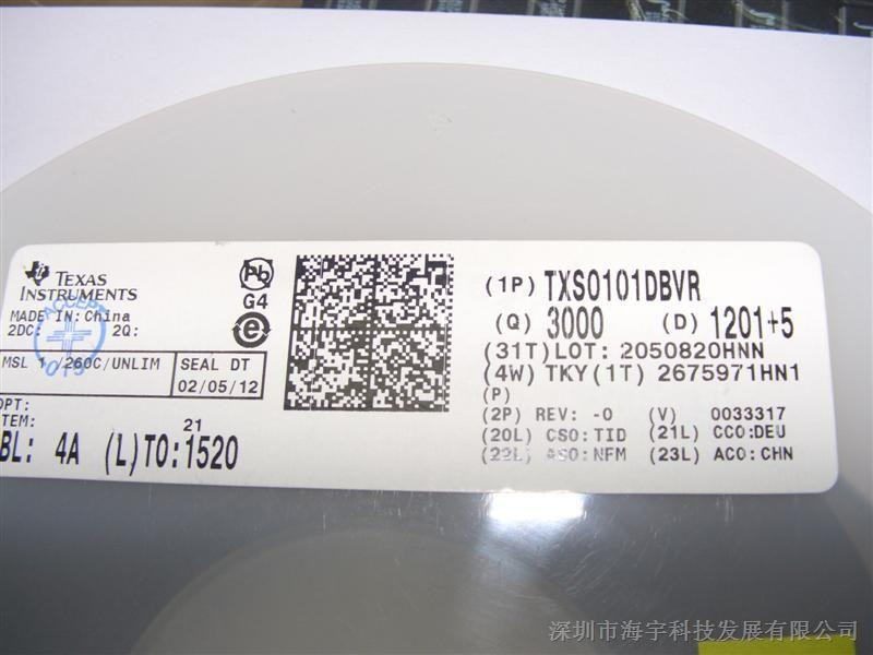 供应 TXS0101DBVR 进口原装现货