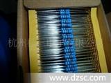 全系列金膜电阻  铜角编带1/4W 全部型号都有现货