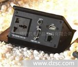 高级气杆式桌面插座 阻尼式桌面插座 地板插座开关