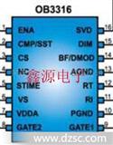 OB3316(N)冷阴极荧光灯管CCFL背光控制器