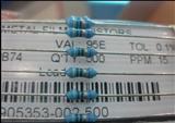 厂家直销高精密金属膜电阻1/4W 0.1% 千分之一 低温漂10PPM/25PPM