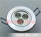 厂家直销-LED射灯天花灯筒灯 大功率LED天花灯杯 超亮节能省电3W