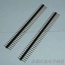 供应 单排排针2.54 40pin 双排排针2.54 40pin
