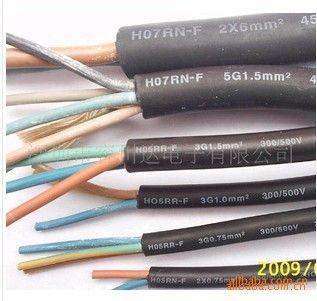 供深圳橡胶线,vde橡胶电源线