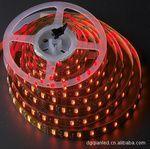 5050led柔性灯带 防水 红光一米30灯  5米一卷
