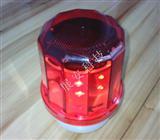 太阳能圆形岗亭警示灯|太阳能警示灯|太阳能岗亭警示灯