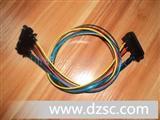 SATA7+15透明蓝线等电脑主机硬盘线