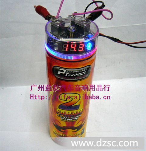音响改装各法拉汽车电容器/电容/稳压器/音响改装功放