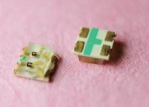 专业生产LED0603黄蓝双色LED SMD