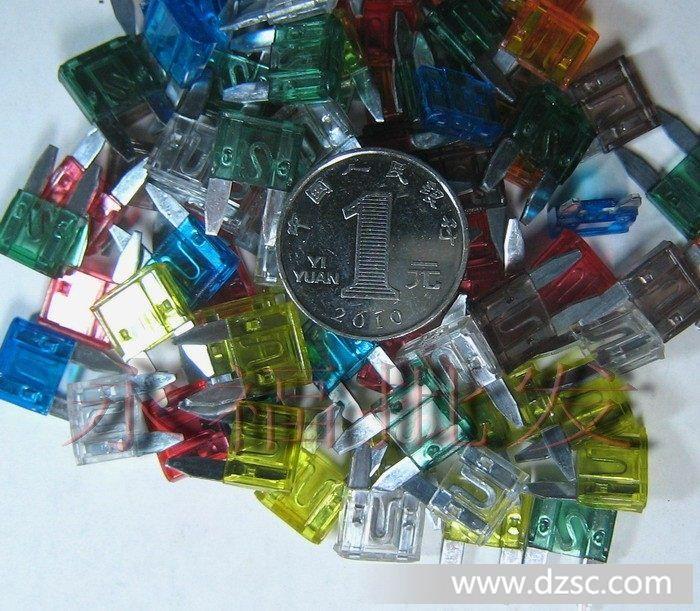 捷配电子市场网 元器件 保险丝    保险丝电流跟颜色对照表:   5a