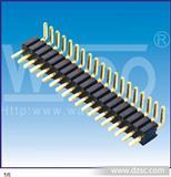 优质排针2.54 双排排针单排排针弯脚排针