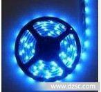 厂家LED 3528 蓝色柔性防水、套管、软灯条
