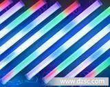 厂价批发LED护栏管外控6段24V透明1米 LED全彩数码管管屏轮廓灯管