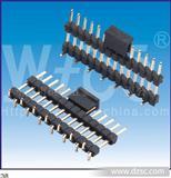 2.0mm单排排针,接触热阻2mΩ