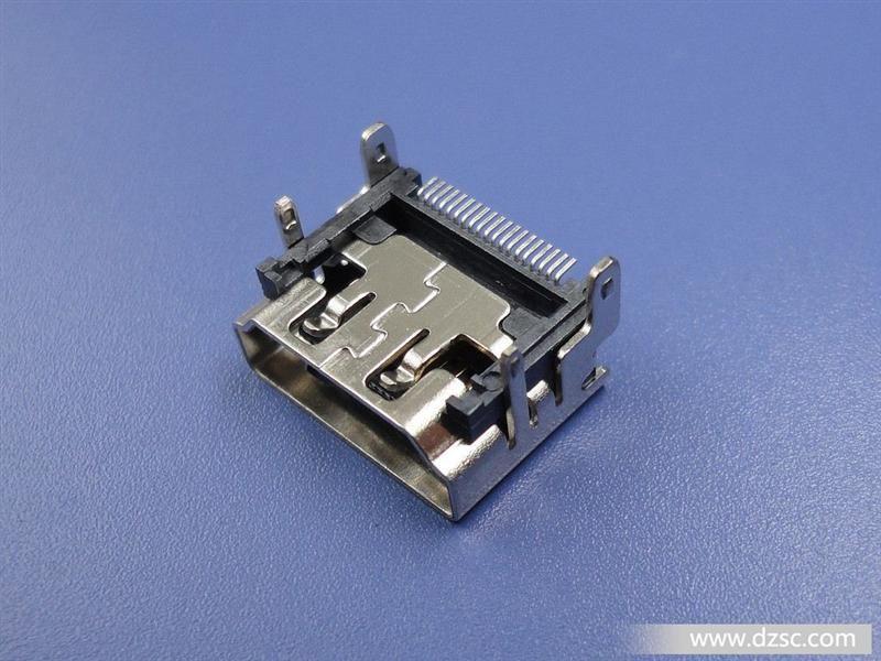 hdmi连接器,19p贴片高清接口,hdmi19p母座