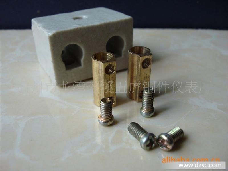 柱,陶瓷端子台,接线端子(铜件)  品牌/商标  国产  型号/规格  3a~100