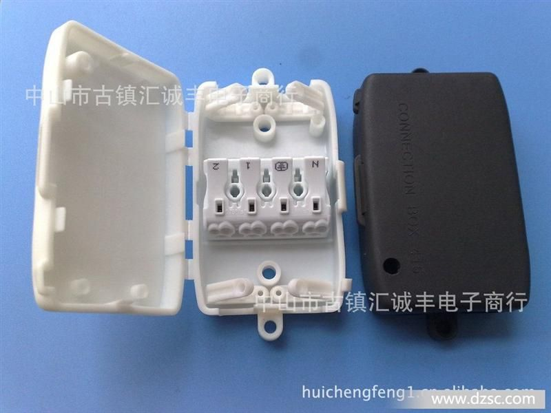 供应415接线盒配免螺丝端子p02-4 ,923欧式端子台,推插式端子.