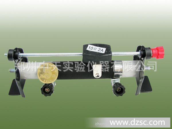 二,结构及工作原理:滑动变阻器由合金丝瓷管,滑动头,滑杆,支架