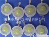 LED厂家0.5W 高亮白光手电筒矿灯用大功率LED发光二极管