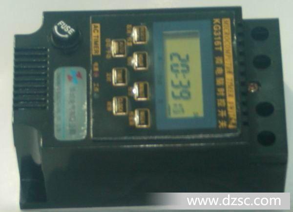 kg316t微电脑时控开关 /时间继电器