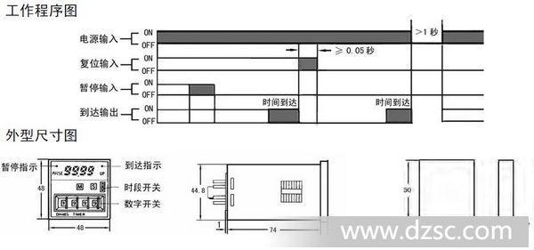 热销dh48s-2z时间继电器 dhc大华仪表宁波总公司