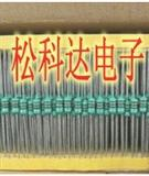 色环电感 1/4W 0307 色码电感 1UH 27UH 穿心磁珠电感 330UH 0.68UH