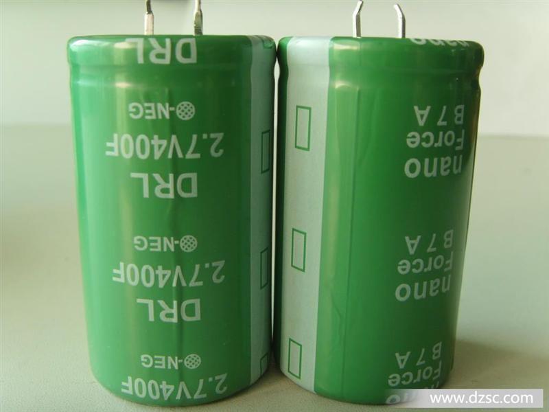 ��G�f�����v�_汽车音响电容,400f2.7v法拉电容