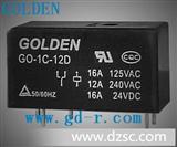 高登 HF115F 温控继电器 固态继电器 时间继电器12 继电器