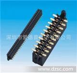 1.27mm排母 单双排 贴片 带外柱