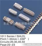 SHLD1.0MM连接器,双排带扣,Jst SHDC 1.0MM