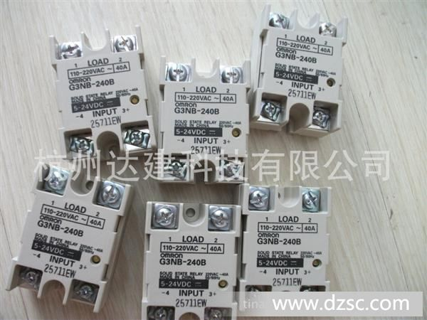欧姆龙g3nb-240b固态继电器图片